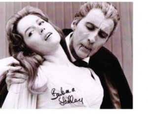 Barbara Shelley star of The Gorgon, Dracula, Prince of Darkness, Rasputin & Quatermass